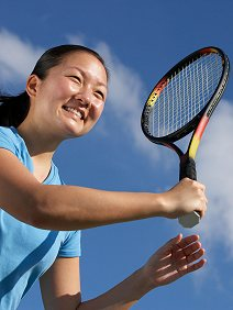 Contact details   FAQs . Library Image: Winning Tennis (Female)